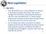 new legislation8