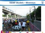 teemp models bikeways