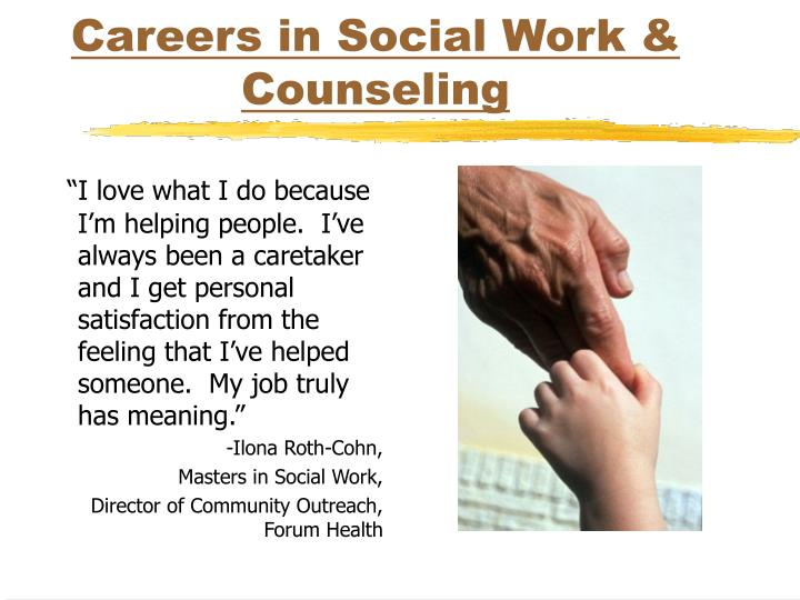 career in social work Although most social workers need a bachelor's degree in social work, clinical social workers must have a master's degree and two years of post-master experience in a supervised clinical setting clinical social workers must also be licensed in the state in which they practice.