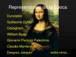 representantes de la poca1