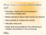 what does a county collaborative do