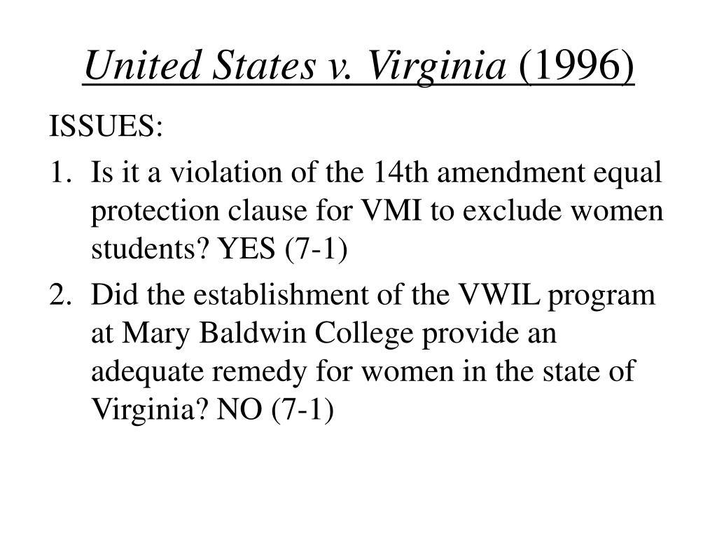 United States v. Virginia