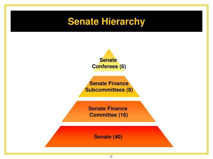 Senate Hierarchy