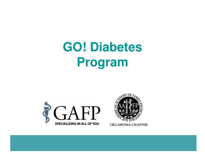 go diabetes program n.