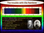 the trouble with the rainbow