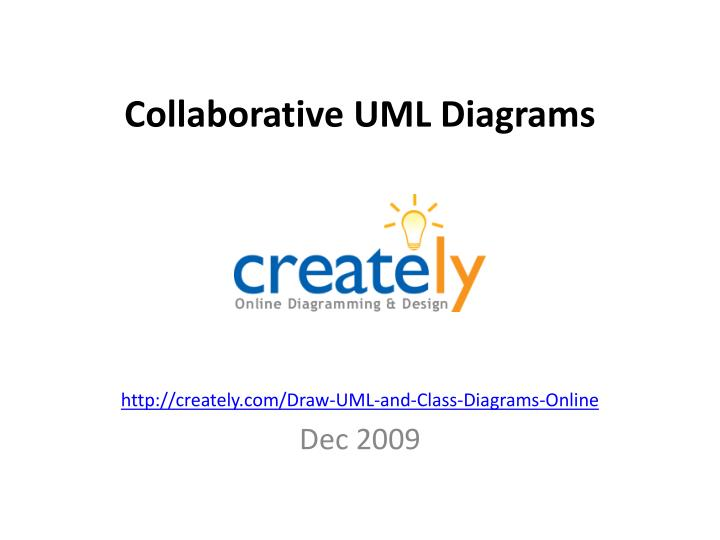 collaborative uml diagrams