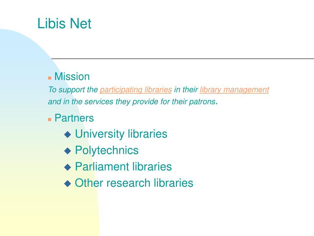 Libis Net