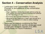 section 4 conservation analysis1