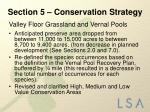 section 5 conservation strategy3