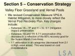 section 5 conservation strategy4