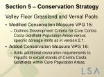 section 5 conservation strategy5