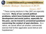 catholic bishops statement cbcp january 2007