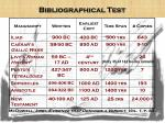 bibliographical test1