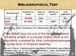 bibliographical test2