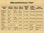 bibliographical test3