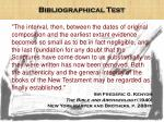 bibliographical test6