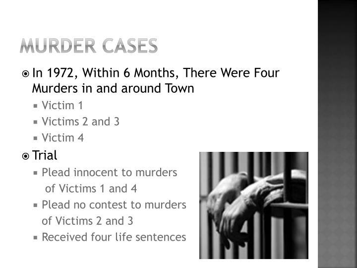 Murder Cases
