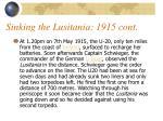 sinking the lusitania 1915 cont9