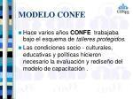 modelo confe3