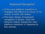 keyboard navigation1