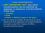 affine transformations1