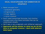 ideal background for animation in graphics