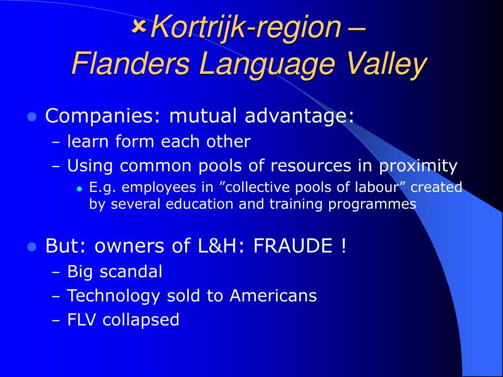 Kortrijk-region –
