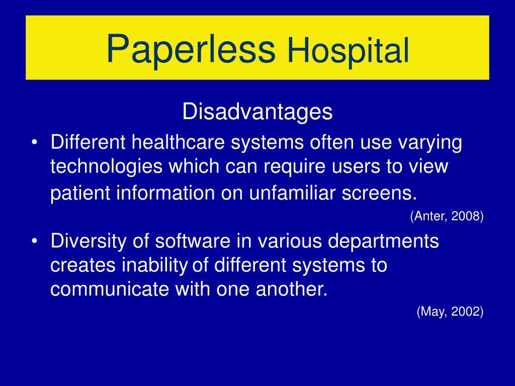 PPT - Paperless Hospital PowerPoint Presentation - ID:1006097