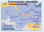 environmental vulnerability