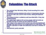 columbine the attack