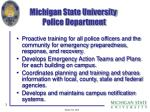 michigan state university police department