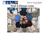 first 6 person crew