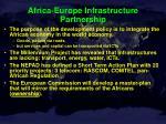 africa europe infrastructure partnership