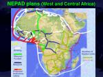 nepad plans west and central africa