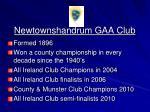 newtownshandrum gaa club