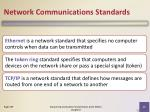 network communications standards1