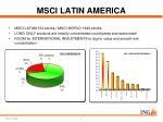 msci latin america