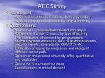 atic survey