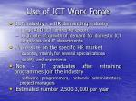 use of ict work force1