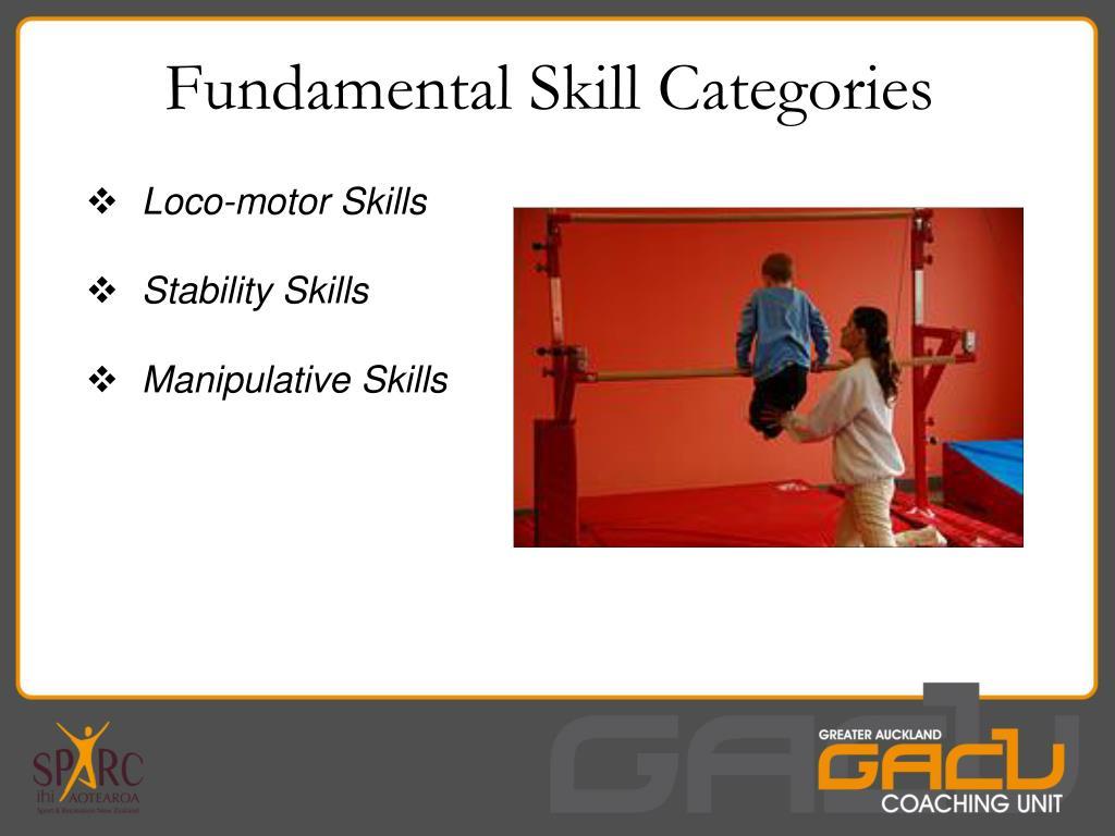 Fundamental Skill Categories