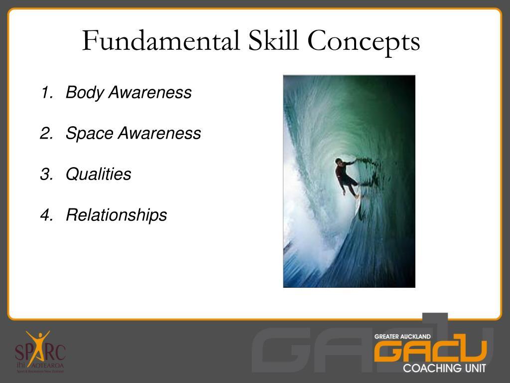 Fundamental Skill Concepts