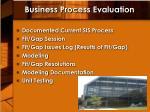 business process evaluation1