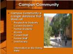 campus community