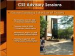 css advisory sessions3