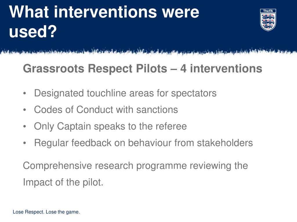 What interventions were used?