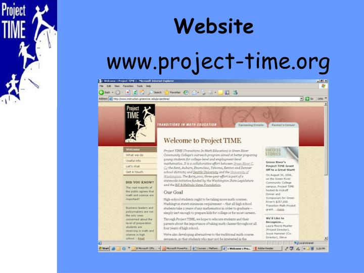www.project-time.org