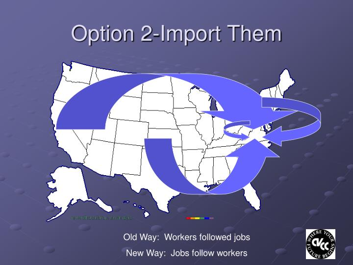Option 2-Import Them