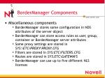 bordermanager components15
