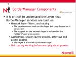 bordermanager components2