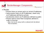 bordermanager components4